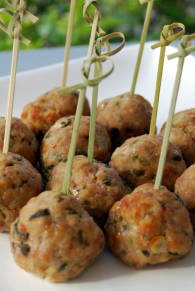 Asian Spiced Pork Balls