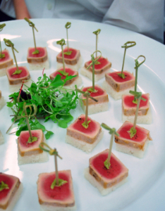 Finger food for Canape buffet menus